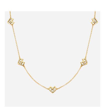 Colar em Ouro Amarelo com Diamante