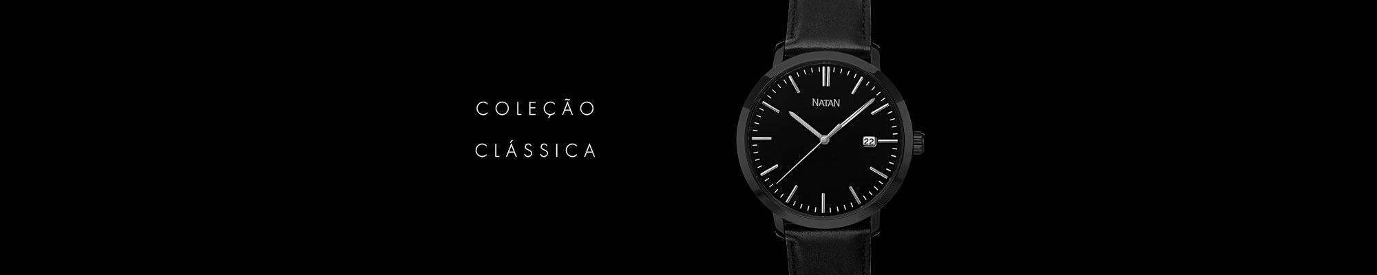 Relógios Natan coleção Linha Clássica