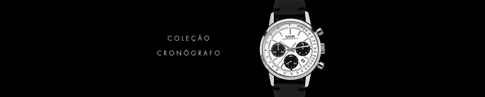 Relógios Natan coleção Cronógrafo