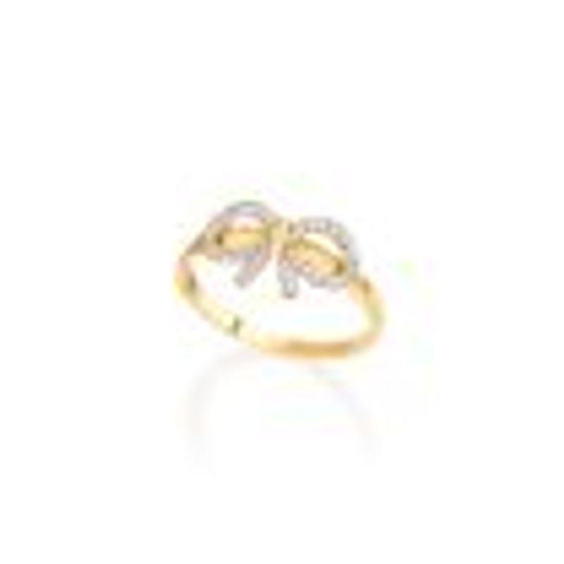 ab9e8dc5300d0 Anel em Ouro Amarelo 18K com Diamante - CHIC - montecarlo