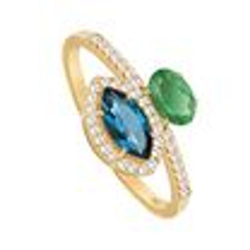 99a25d824fbea Anel em Ouro Amarelo 18K com Diamante