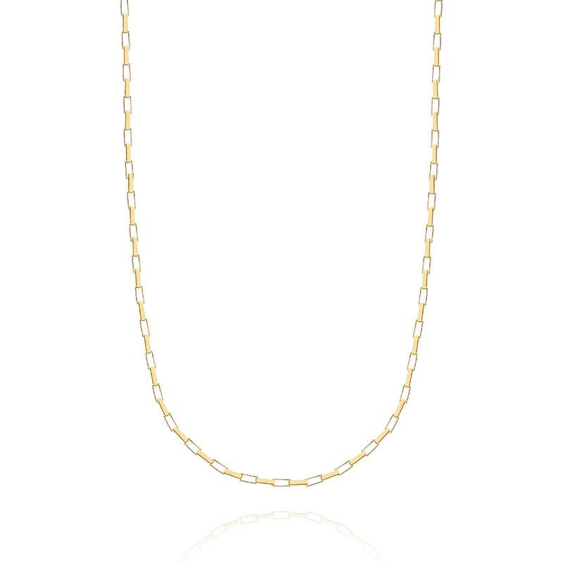 Corrente em Ouro Amarelo 18K 60CM - MALHA VENEZIANA - montecarlo 107b77102d
