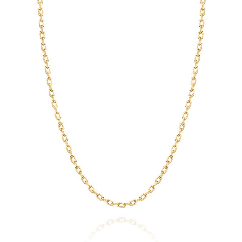 3e2e0dfcf7c24 Corrente Malha Cartier em Ouro Amarelo 18K - montecarlo