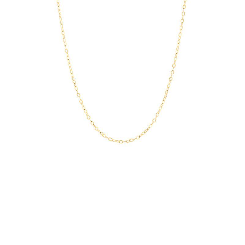 Corrente Malha Elo em Ouro Amarelo 18K - montecarlo d2767b9f10