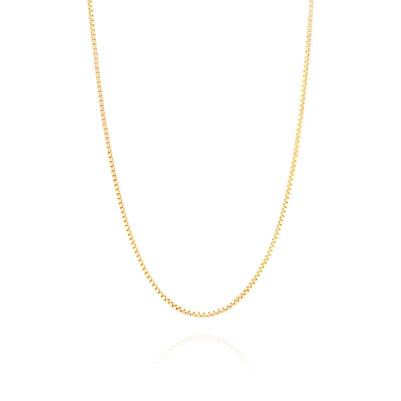 3156b701c5a5b Corrente Malha Veneziana em Ouro Amarelo 18K - montecarlo