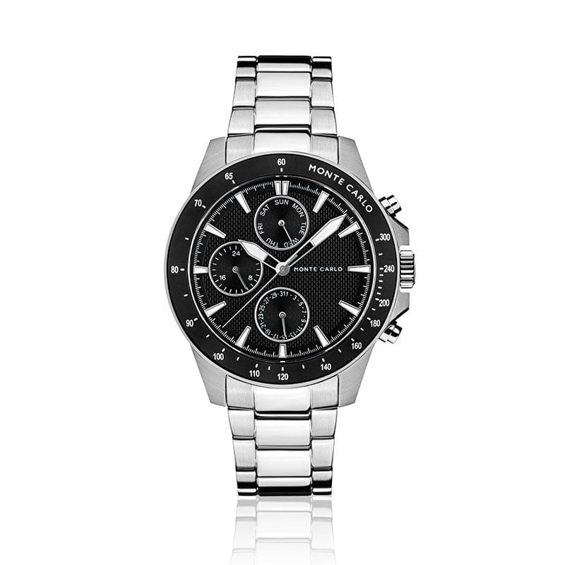 e769c116004 Relógio Monte Carlo Masculino em Aço Prata - montecarlo