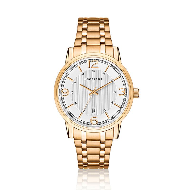 436e5434dd6 Relógio Monte Carlo Feminino em Aço Dourado - montecarlo