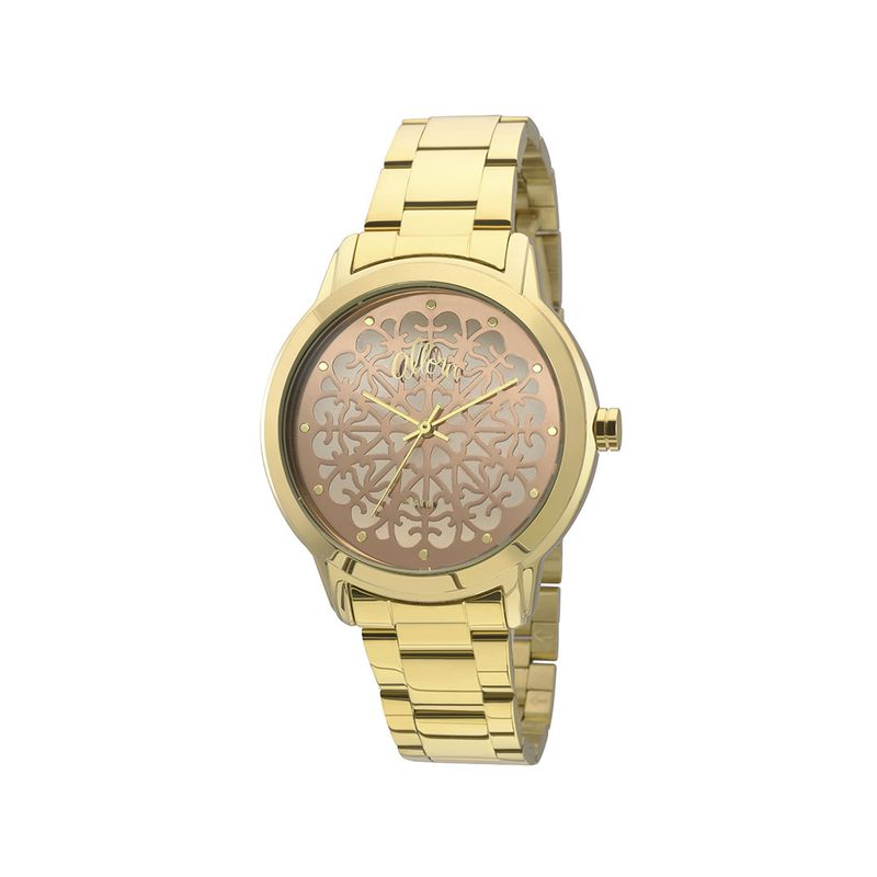 e8df0e161da Relógio Allora Feminino Metal em Dourado - montecarlo