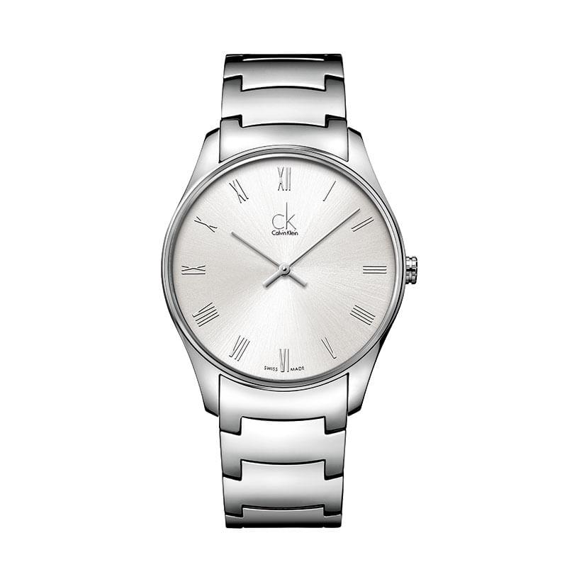 d90f14739 Relógio Calvin Klein Masculino em Aço Prata - montecarlo