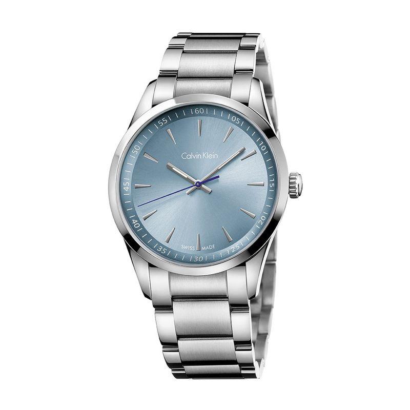 0d92597a7c1e9 Relógio Calvin Klein Masculino em Aço Prata - montecarlo