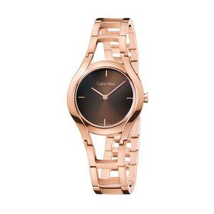 7e1710a79e3 Relógio Calvin Klein Feminino em Aço Rosé