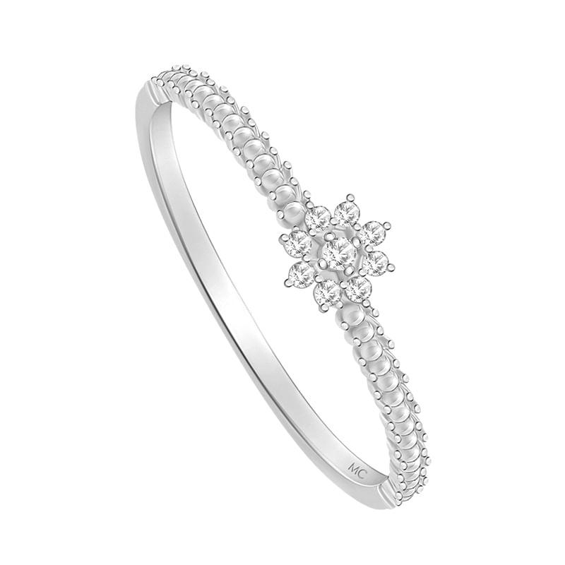 Anel em Ouro Branco 18K com Diamante - PALACE - montecarlo ad9e40bf55