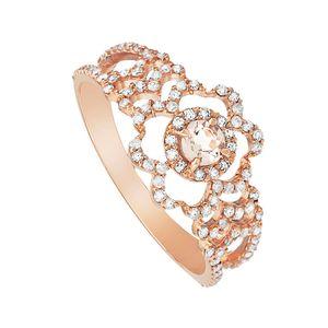 Anel-em-Ouro-Rose-18K-com-Diamante