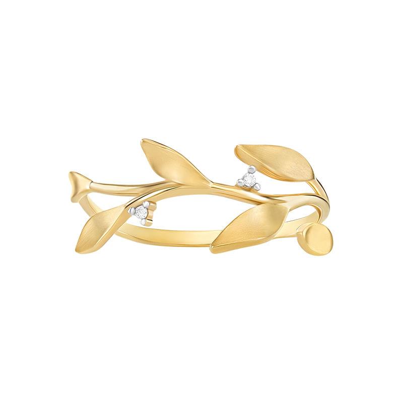 b5e5a3268cf Anel em Ouro Amarelo 18K com Diamante - montecarlo