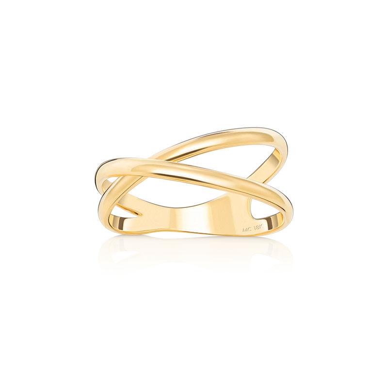 0823efbcb55 Anel em Ouro Amarelo 18K - COPACABANA - montecarlo