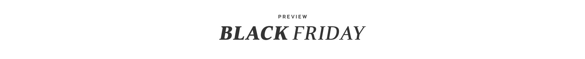 pre-black-friday
