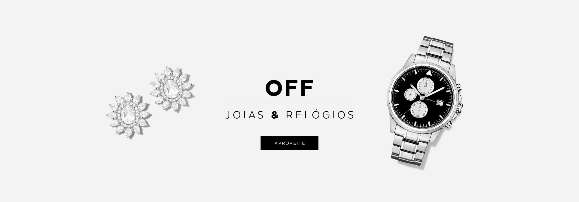 Off joias e relogios